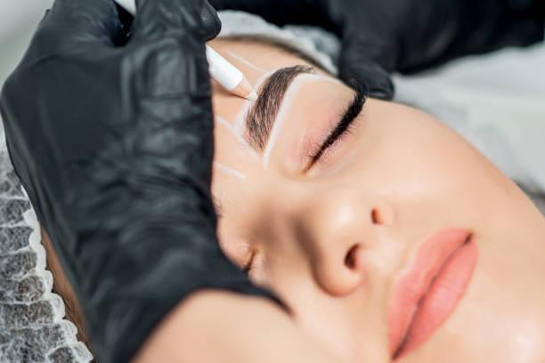 Permanent Make-up Augenbrauen